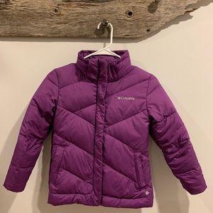 Columbia bubble jacket